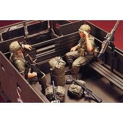 Gun Truck Crew (2) - Scale 1/35 - Hobby Fan - HFN-HF533