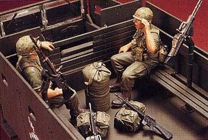 Hobbyfan Gun Truck Crew (2) - Scale 1/35 - Hobby Fan - HFN-HF533