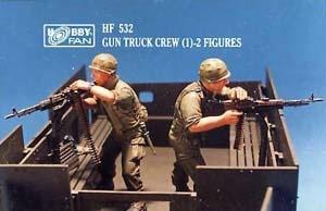 Hobbyfan Gun Truck Crew (1) - Scale 1/35 - Hobby Fan - HFN-HF532