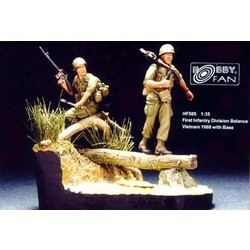 1St Infantry Div. Balance Vietnam ´68 with base - Scale 1/35 - Hobby Fan - HFN-HF505