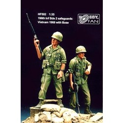 196th Inf Bde Safeguards Vietnam ´68 with base - Scale 1/35 - Hobby Fan - HFN-HF502