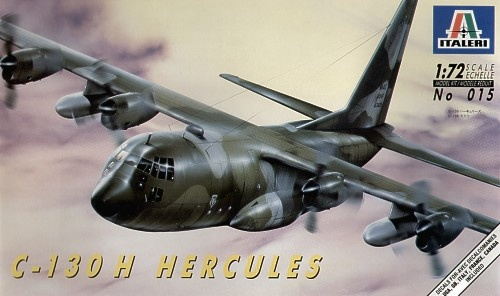 Italeri C-130 E/H Hercules - Scale 1/72 - Italeri - ITA-0015