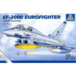 Ef-2000 Eurofighter Twin Seater - Scale 1/72 - Italeri - ITA-0099