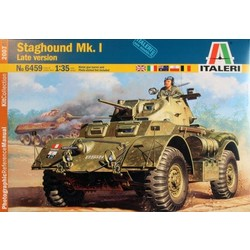 Staghound Mk.I Late Version - Scale 1/35 - Italeri - ITA-6459