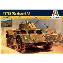 Staghound Aa - Scale 1/35 - Italeri - ITA-6463