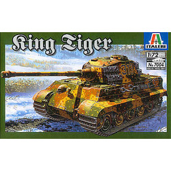 Sd. Kfz. 182 King Tiger - Scale 1/72 - Italeri - ITA-7004
