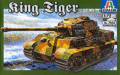 Italeri Sd. Kfz. 182 King Tiger - Scale 1/72 - Italeri - ITA-7004