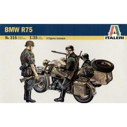 Bmw R75 With Sidecar - Scale 1/35 - Italeri - ITA-0315