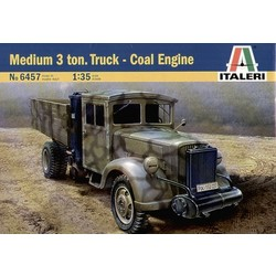 Medium 3 Ton. Truck- Coal Engine - Scale 1/35 - Italeri - ITA-6457
