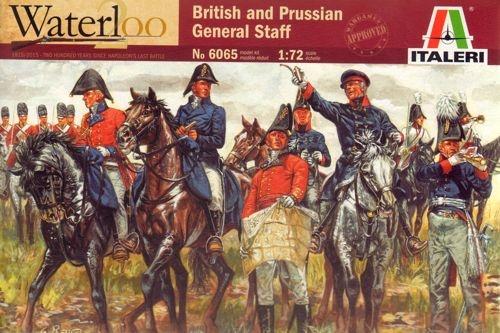 Italeri British and Prussian General Staff - Scale 1/72 - Italeri - ITA-6065