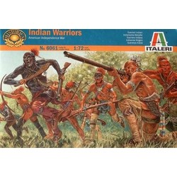 Indian Warriors (Americ.Ind.Wars) - Scale 1/72 - Italeri - ITA-6061