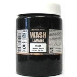 Black Wash - 200ml - Vallejo - VAL-73301
