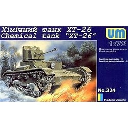 T-26T Armored Transporter/T-26Tn Reconnaissance Observation - Scale 1/72 - Unimodels - UNS404