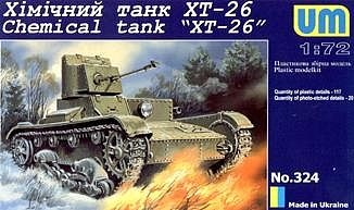 Unimodels T-26T Armored Transporter/T-26Tn Reconnaissance Observation - Scale 1/72 - Unimodels - UNS404