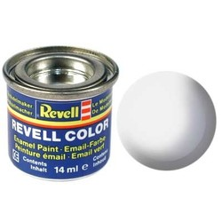 White Gloss - Enamel verf - 14ml - Revell - RV32104