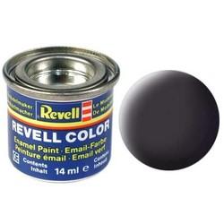 Tar Black Matt - Enamel verf - 14ml - Revell - RV32106