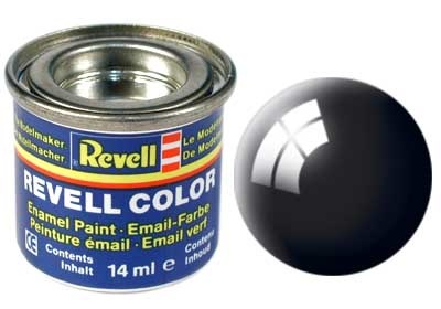 Revell Black Gloss - Enamel verf - 14ml - Revell - RV32107