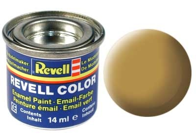 Revell Sandy Yellow Matt - Enamel verf - 14ml - Revell - RV32116
