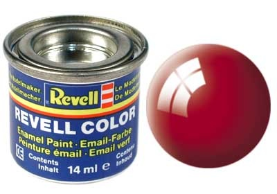Revell Fiery Red Gloss - Enamel verf - 14ml - Revell - RV32131