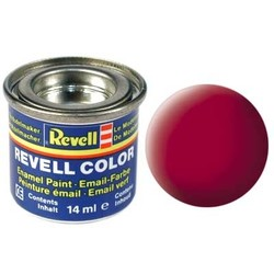 Carmine Red Matt - Enamel verf - 14ml - Revell - RV32136