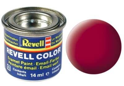Revell Carmine Red Matt - Enamel verf - 14ml - Revell - RV32136
