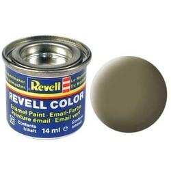 Dark Green Matt - Enamel verf - 14ml - Revell - RV32139