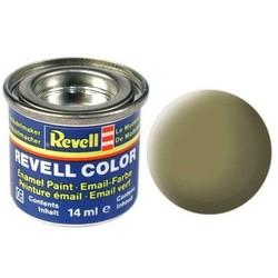 Olive Yellow Matt - Enamel verf - 14ml - Revell - RV32142