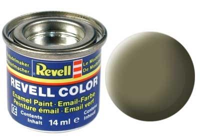 Revell Light Olive Matt - Enamel verf - 14ml - Revell - RV32145