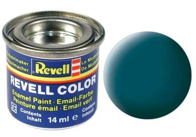 Revell Sea Green Matt - Enamel verf - 14ml - Revell - RV32148