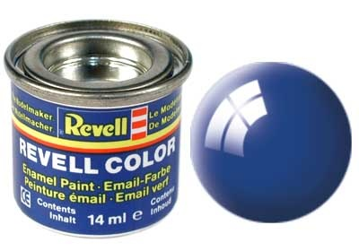 Revell Blue Gloss - Enamel verf - 14ml - Revell - RV32152