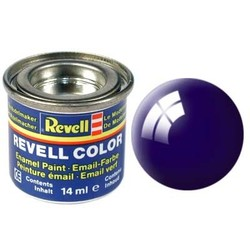 Night Blue Gloss - Enamel verf - 14ml - Revell - RV32154