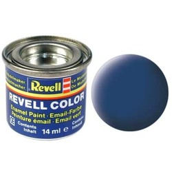 Blue Matt - Enamel verf - 14ml - Revell - RV32156
