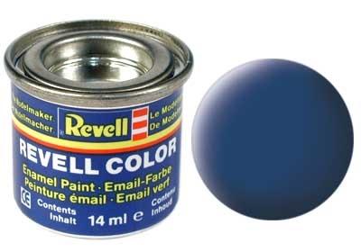 Revell Blue Matt - Enamel verf - 14ml - Revell - RV32156