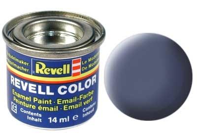 Revell Grey Matt - Enamel verf - 14ml - Revell - RV32157
