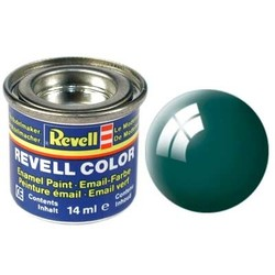 Sea Green Gloss - Enamel verf - 14ml - Revell - RV32162