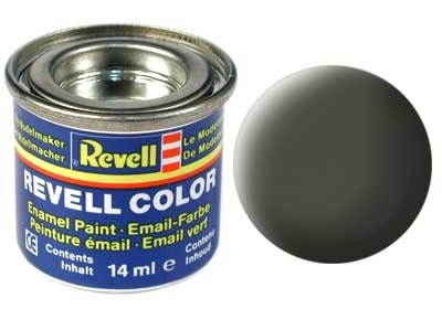 Revell Greenish Grey Matt - Enamel verf - 14ml - Revell - RV32167