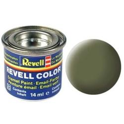 Dark Green Matt Raf - Enamel verf - 14ml - Revell - RV32168