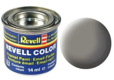 Revell Stone Grey Matt - Enamel verf - 14ml - Revell - RV32175