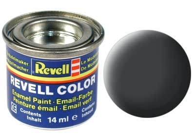 Revell Dust Grey Matt - Enamel verf - 14ml - Revell - RV32177