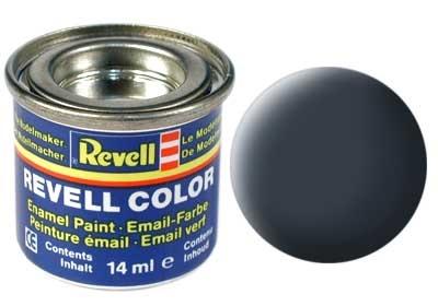 Revell Greyish Blue Matt - Enamel verf - 14ml - Revell - RV32179