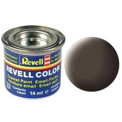 Leather Brown Matt - Enamel verf - 14ml - Revell - RV32184