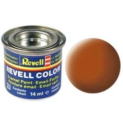 Brown Matt - Enamel verf - 14ml - Revell - RV32185