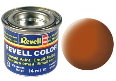 Revell Brown Matt - Enamel verf - 14ml - Revell - RV32185