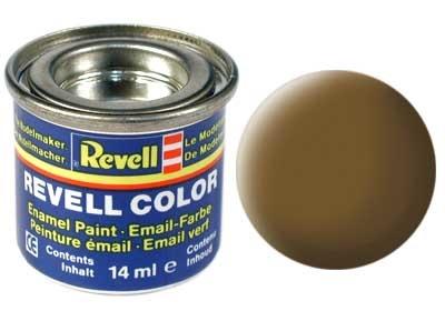 Revell Earth Brown Matt - Enamel verf - 14ml - Revell - RV32187