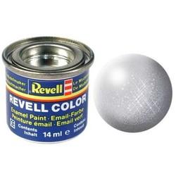 Silver Metallic - Enamel verf - 14ml - Revell - RV32190