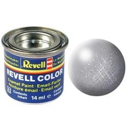 Steel Metallic - Enamel verf - 14ml - Revell - RV32191