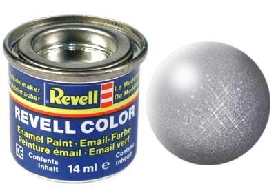 Revell Steel Metallic - Enamel verf - 14ml - Revell - RV32191