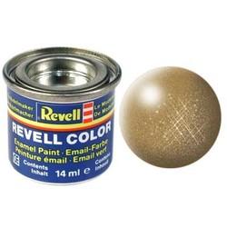 Brass Metallic - Enamel verf - 14ml - Revell - RV32192