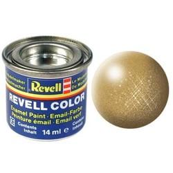Gold Metallic - Enamel verf - 14ml - Revell - RV32194