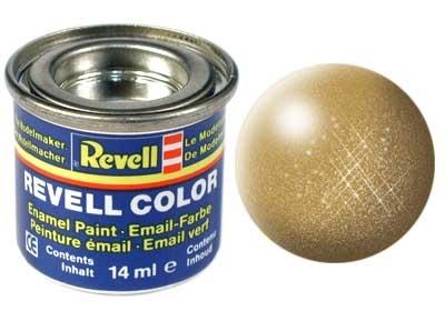Revell Gold Metallic - Enamel verf - 14ml - Revell - RV32194